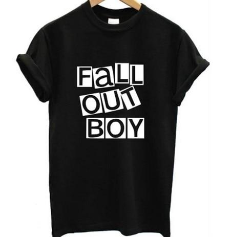 Majica SexeMara Fall Out Boy Moška glasba Rock Band Tour Pop - Moška oblačila
