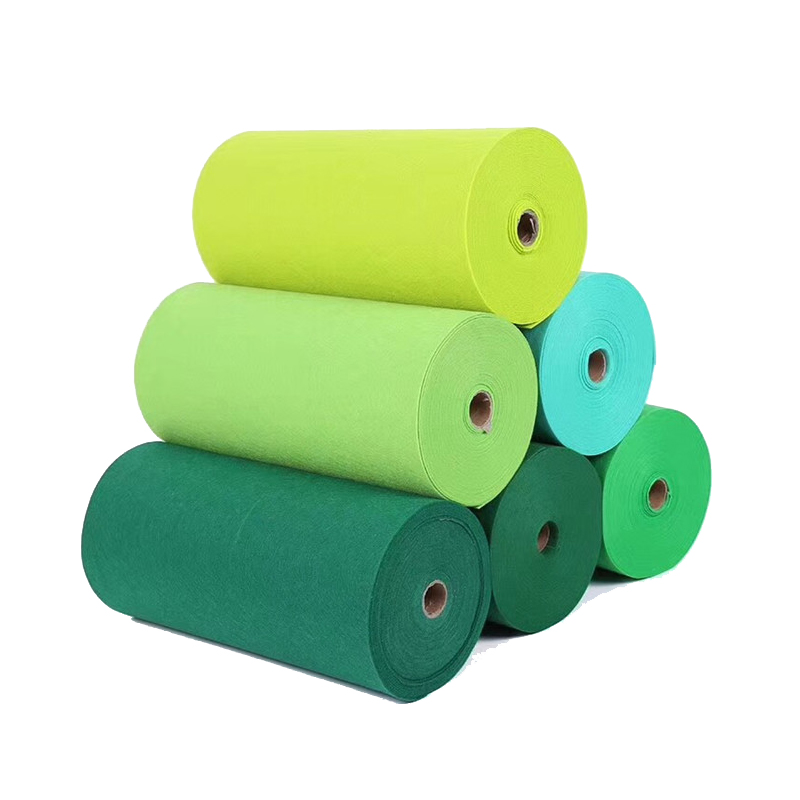 Green 3mm Thick Felt Fabric Polyester Non Woven Feltro Handmade Tela Vilt Fieltro Para Manualidades By Yard Folder Send