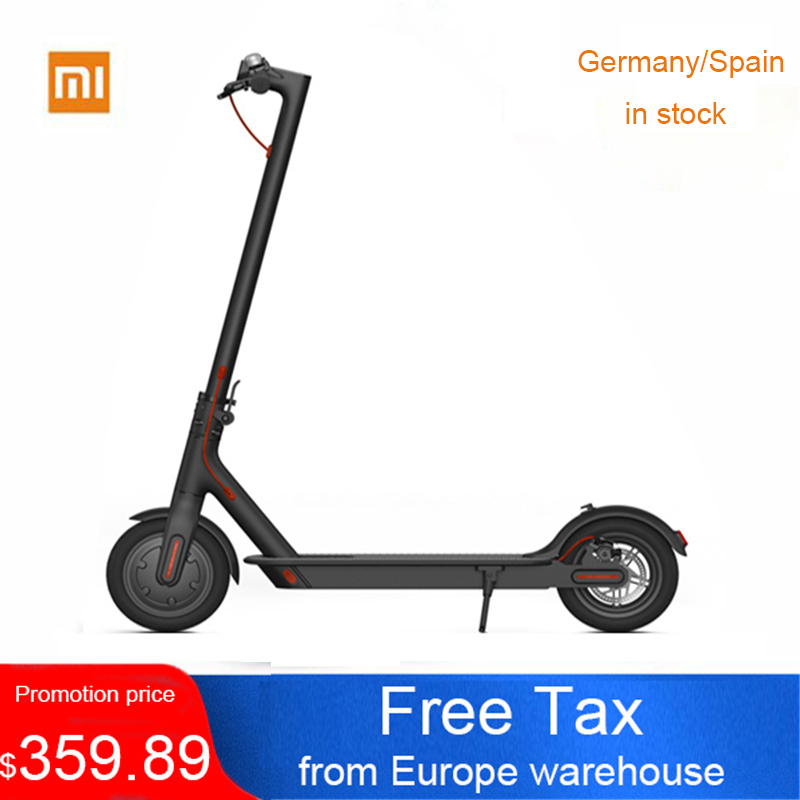 UE Stock D'origine Xiaomi Mijia Smart Électrique scooters pliable hoverboard Magnesuim-en alliage d'aluminium longboard 2-roues