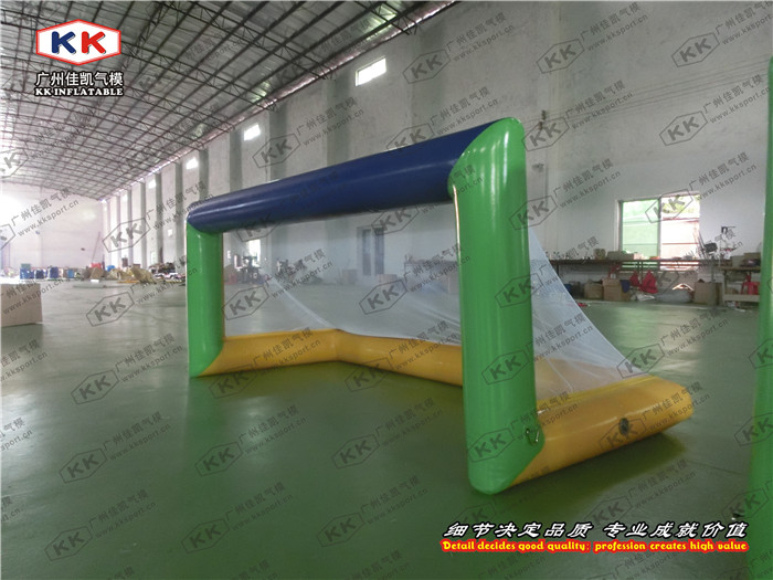 promotion inflatable water polo pool soccer goal