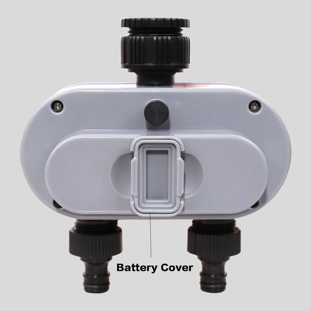 Digital Electronic Garden Water Timer With Rain Delay Button for Garden 3