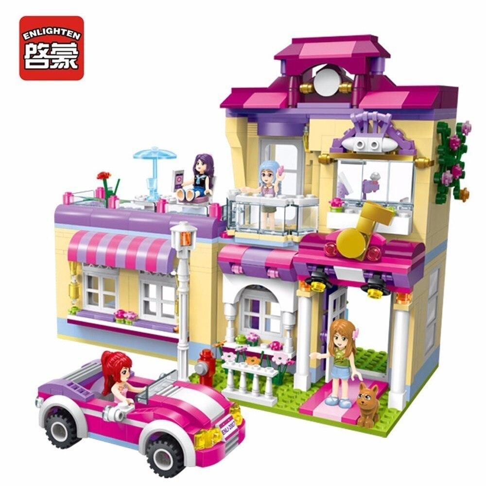 Φωτισμός Κορίτσια Παιδιά Μόδας Οικοδόμησης Δώρα Συμβατά Blocks ... c57ce698b93