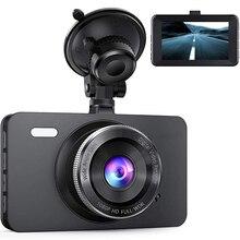 """Dash Cam Full HD 1080 P Dell'automobile DVR del Cruscotto Della Macchina Fotografica Auto Video Recorder con 3 """"Schermo LCD 170°Wide Angolo, WDR, G-Sensor"""