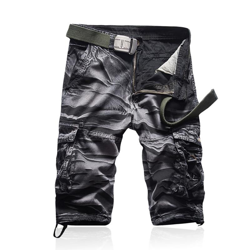 a8ac7bb2a7 Cheap Shorts hombre marca Moda hombre Bermuda corta Hombre Homme Casual  Cargo playa pantalones cortos hombres