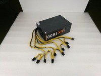 New Power Supply For 6 Pin 10 1600W 220V 12V 133A A6 A7 E9 T9 S7