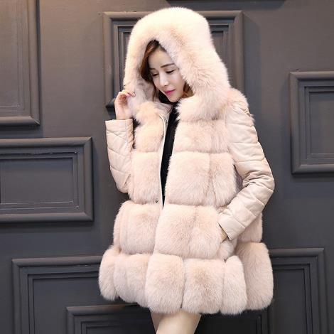 Gilet Z92 Femme Cappotto Caldo Faux Soffici Finta Donne Delle Giubbotti Artificiale Size 2019 Pelliccia Inverno Di Plus Uqaz4v