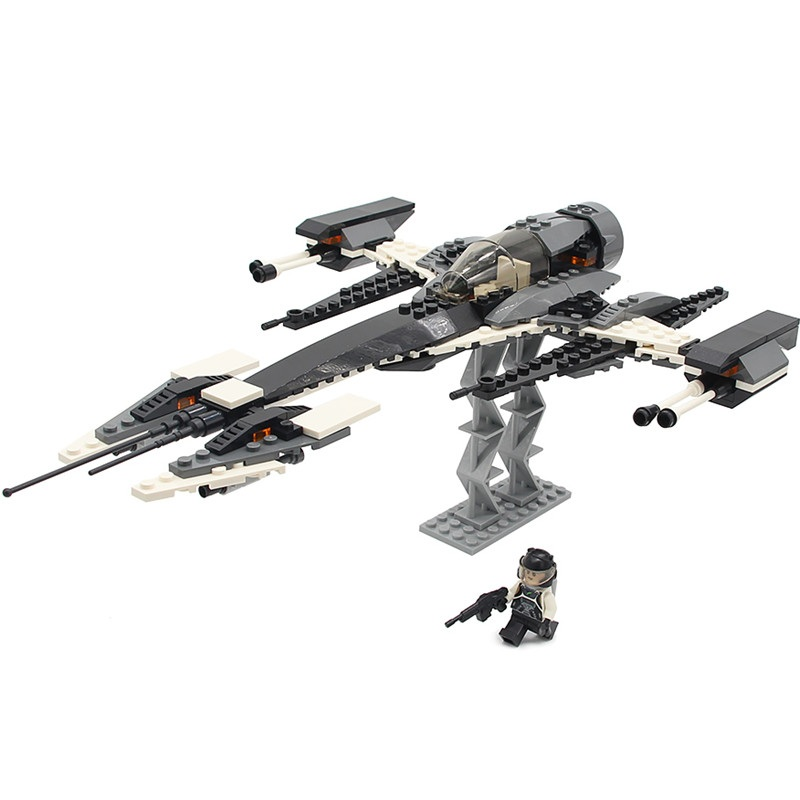 GUDI Star Wars Phantom X Fighter Alien Space Starwars figures in Building Blocks Sets Bricks Model Kids Toys Compatible Legoings