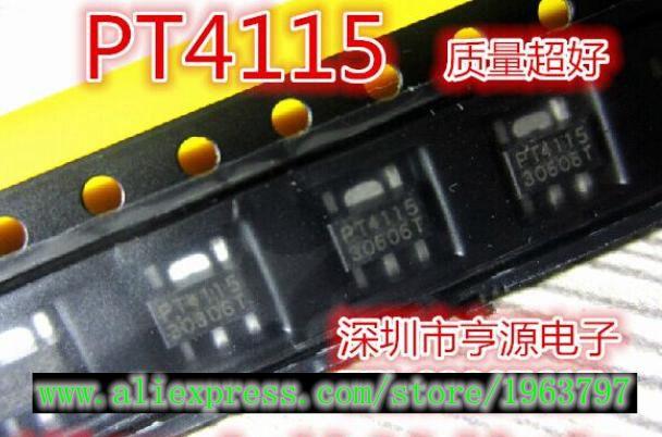 10pcs/lot PT4115-89E PT4115 SOT-89 In Stock