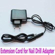 100cm przedłużacz do zdobienia paznokci adapter do wiertarki wiertarka elektryczna przedłużacz słuchawek linia kablowa gniazdo słuchawkowe wtyczka rozszerzenie
