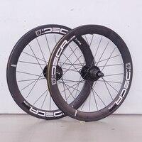 4 bearing 100 135 gear 406 20er wheel bmx fold bicycle bike aluminium alloy wheelset supports 8 9 10 speed disc brake 20 inches