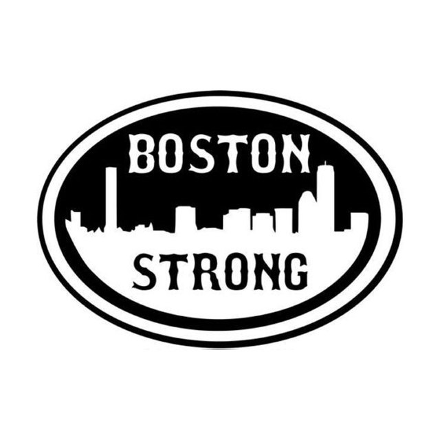 15cm10 6cm personality funny strong boston car window stickers accessories vinyl c5 0394