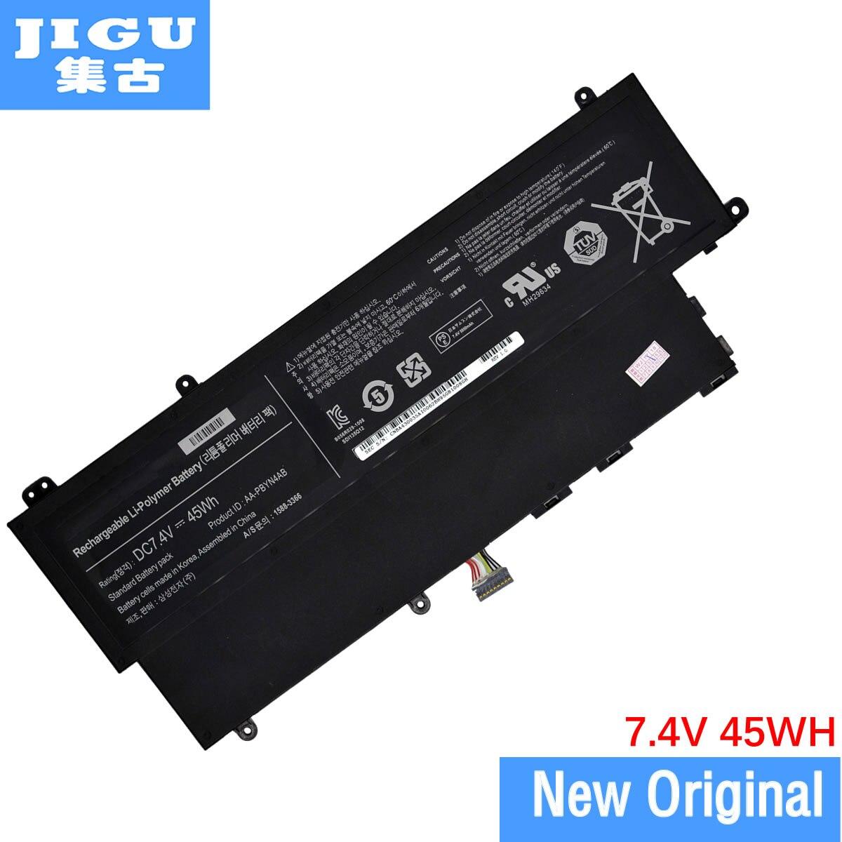 JIGU AA-PBYN4AB D'origine batterie d'ordinateur portable Pour SAMSUNG 530U3 530U3B 530U3C NP530U3C PBYN4AB Batteries 7.4 V 45WH