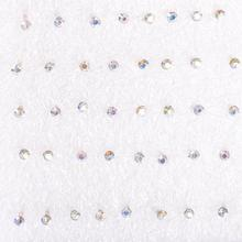 20 Pairs For Women 1 Box Mixed Color Rhinestone Ear Studs Stud Pin Earrings ES2745