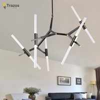 New Agnes Chandeliers Modern Creative Hanging Lights Nordic Minimalist Art Decoration Branch Agnes Lamps By Lindsey