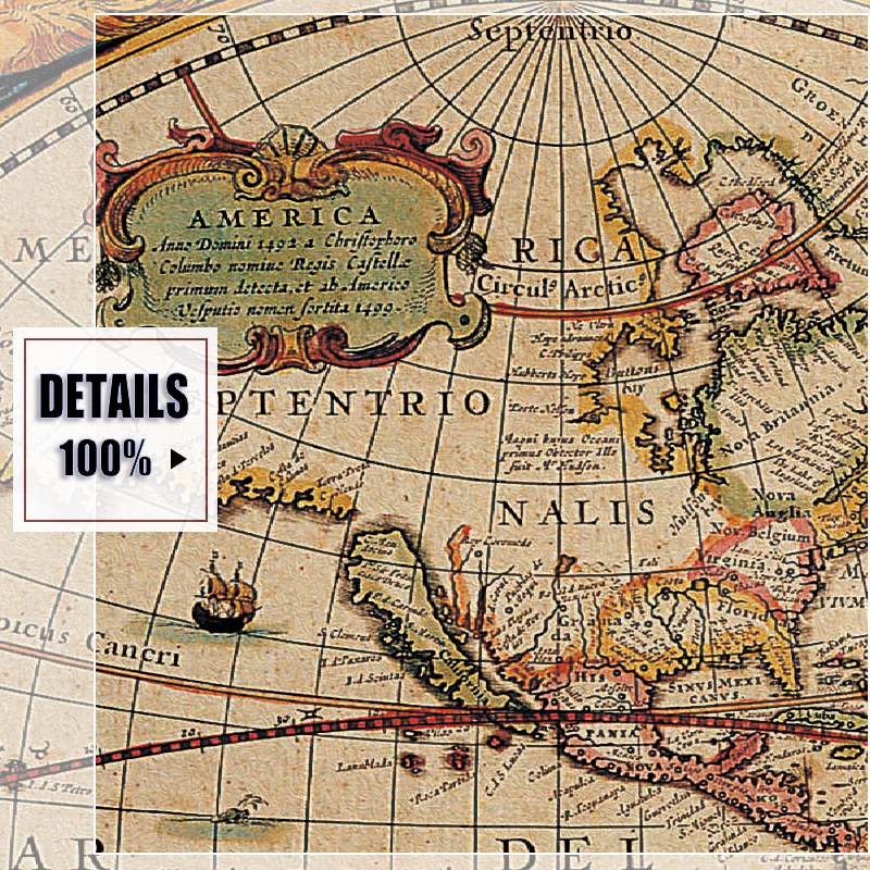 Classic world map english for retro poster decorative painting classic world map english for retro poster decorative painting vintage canvas map canvas painting art wall pictures oil painting in painting calligraphy gumiabroncs Image collections