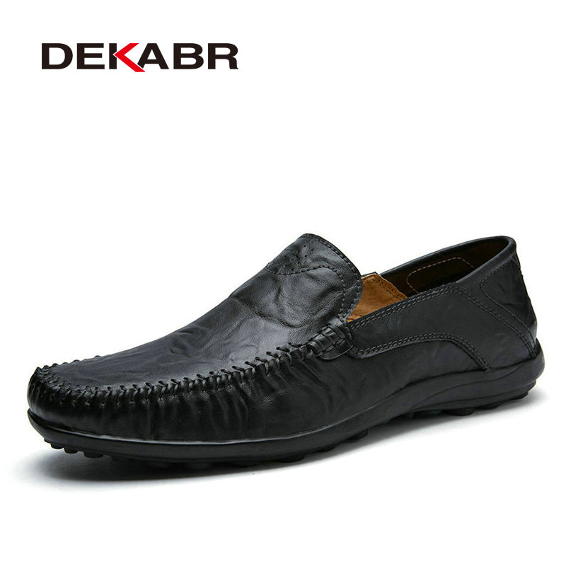 Big Size 38-45 Fashion Men Flats Comfortable Cow Split Leather Men Loafers Breathable Casual Driving Brand Soft Men Moccasins men cow split leather shoes casual loafers soft and comfortable oxfords non slip flats luxury brand designer shoe zapatos hombre