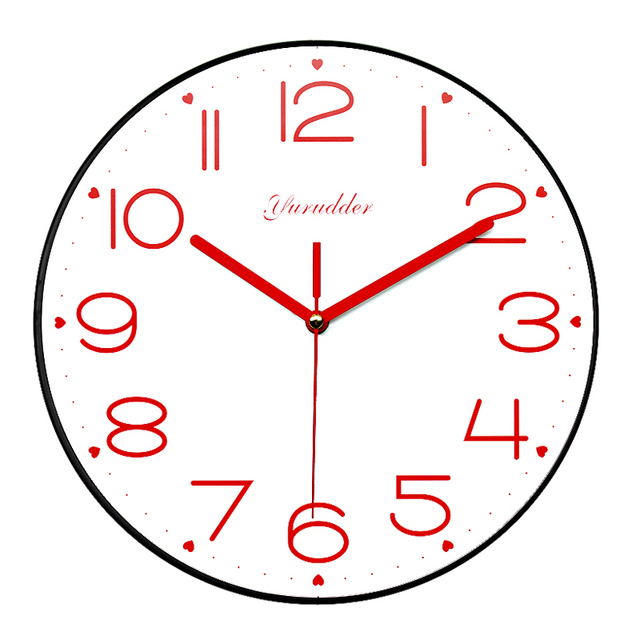 Aliexpresscom Buy New Arrival No Frame MDF Wall Clock Modern