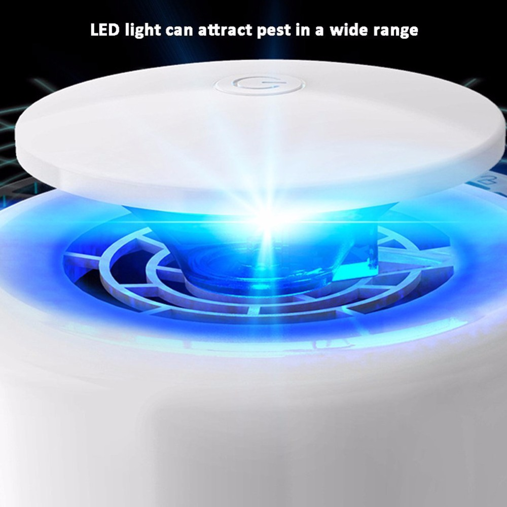 Electronic Silent Anti Mosquito Lamp Led 2w Trap Inhaled Pest Blue White Green Insect Killer Dc 5v Price Remains Stable Repellents Home & Garden