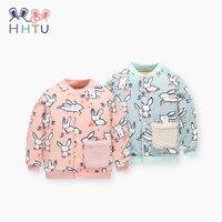 HHTU Children Warm Cotton Padded Jacket Winter Quilted Baby Boys Girls Coat Thickening Toddler Cute Outerwear