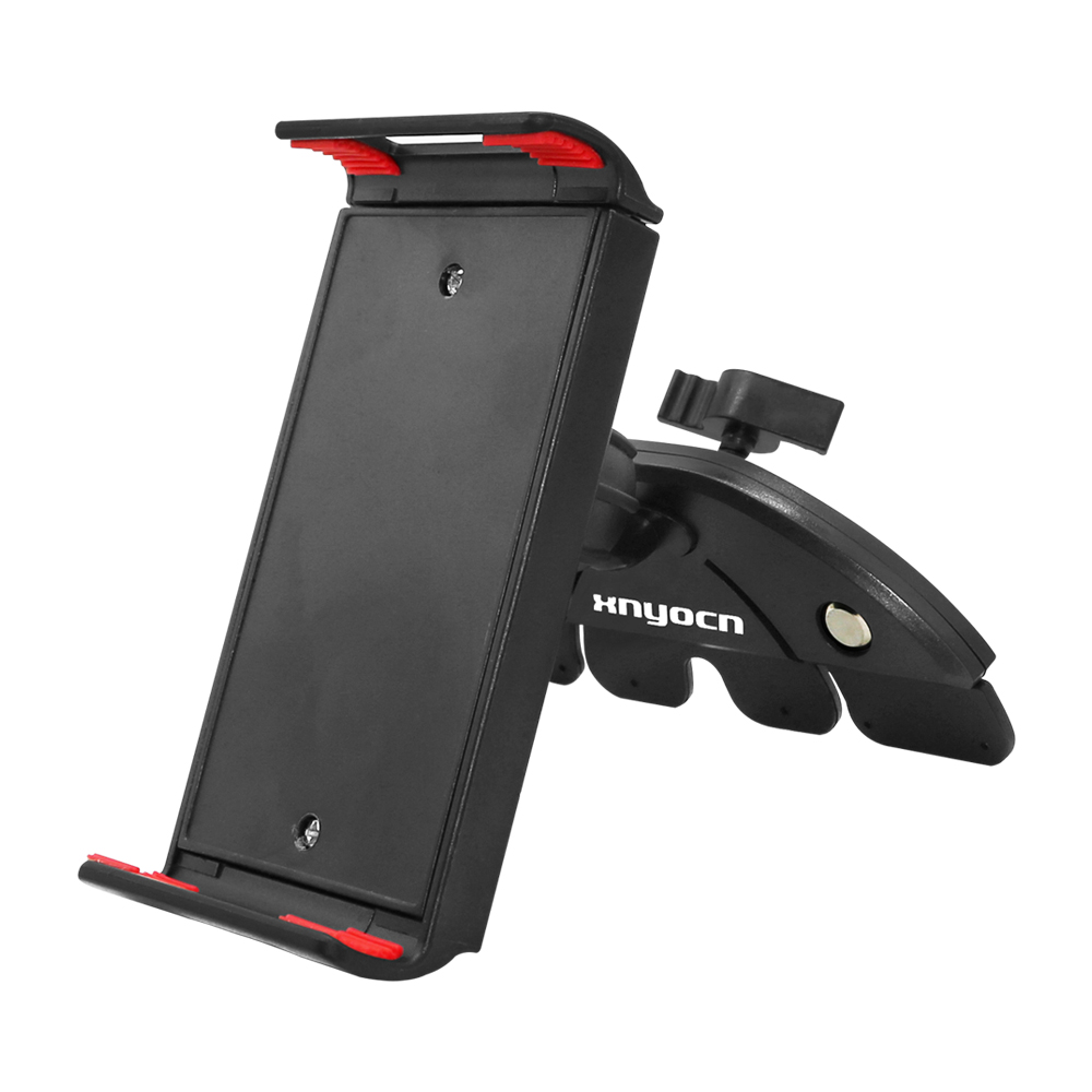 Mount-Stand Tablet Bracket Mobile-Phone-Holder Rotatable Car-Cd-Slot Huawei iPhone Universal title=