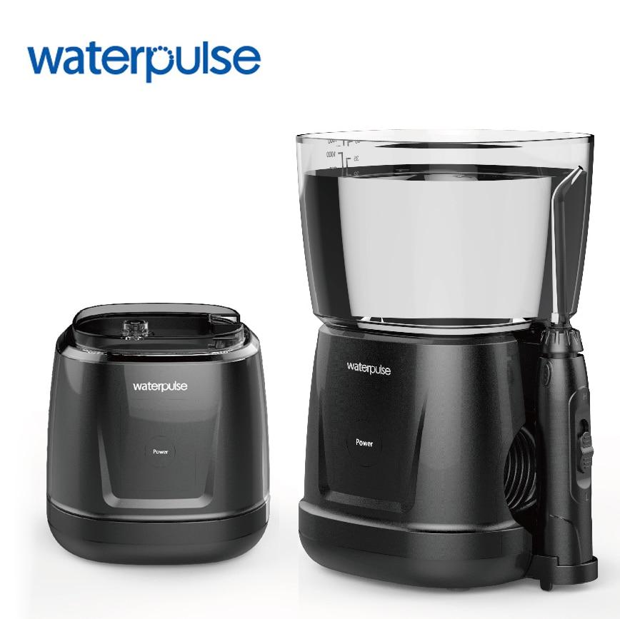 купить Waterpulse V700 Water Flosser Dental Oral Irrigator Oral Hygiene Portable Water Oral Floss Dental Care Irrigation with 5PCS Tips недорого