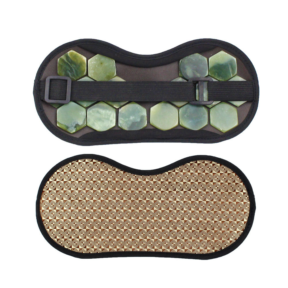 Multi-use Travel Eye Mask Sleeping Aid Lightweight Hot Compress Portable Magnetic Therapy Relaxation Blindfold Nap Home