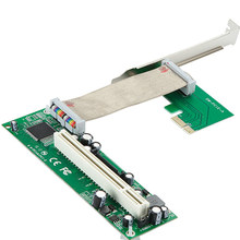 PCI-E PCI express to PCI adapter cable mini pci-e x1 to x16 riser card(China)