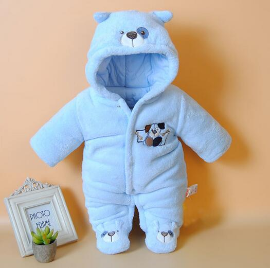 New Baby Winter Romper cotton-padded One Piece Newborn baby girl Warm jumpsuit Autumn Fashion baby's wear Kid Climb Clothes 2017 new cartoon pants brand baby cotton embroider pants baby trousers kid wear baby fashion models spring and autumn 0 4 years