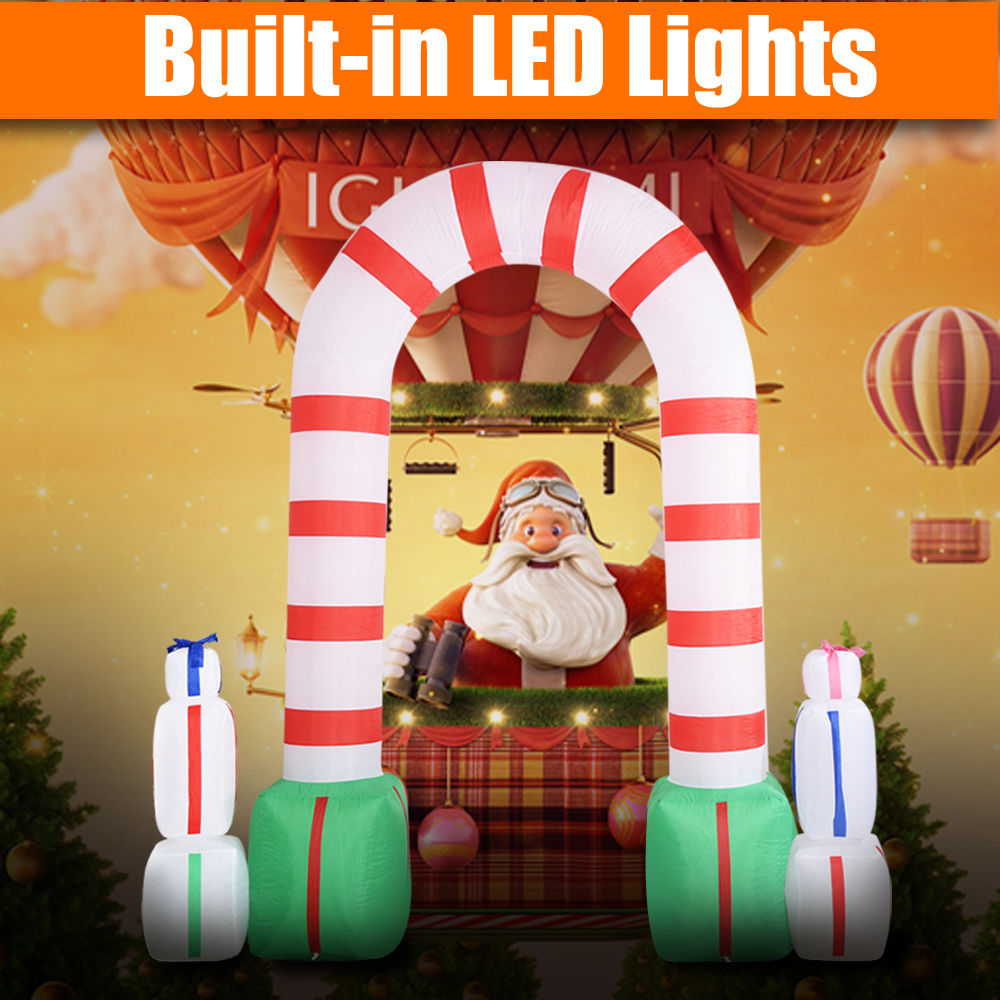 Inflatable christmas decorations outdoor cheap - Inflatable Christmas Outdoor