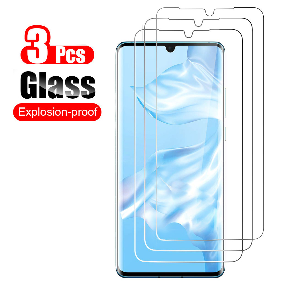 Tempered-Glass Screen-Protector Huawei Mate P10-Plus P30-Lite P20 for on The 3pcs 20x