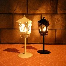 Wedding Decoration Candlesticks Pretty Furnishing Articles Hollow Out Marriage proposal Pattern Iron Candle Holders