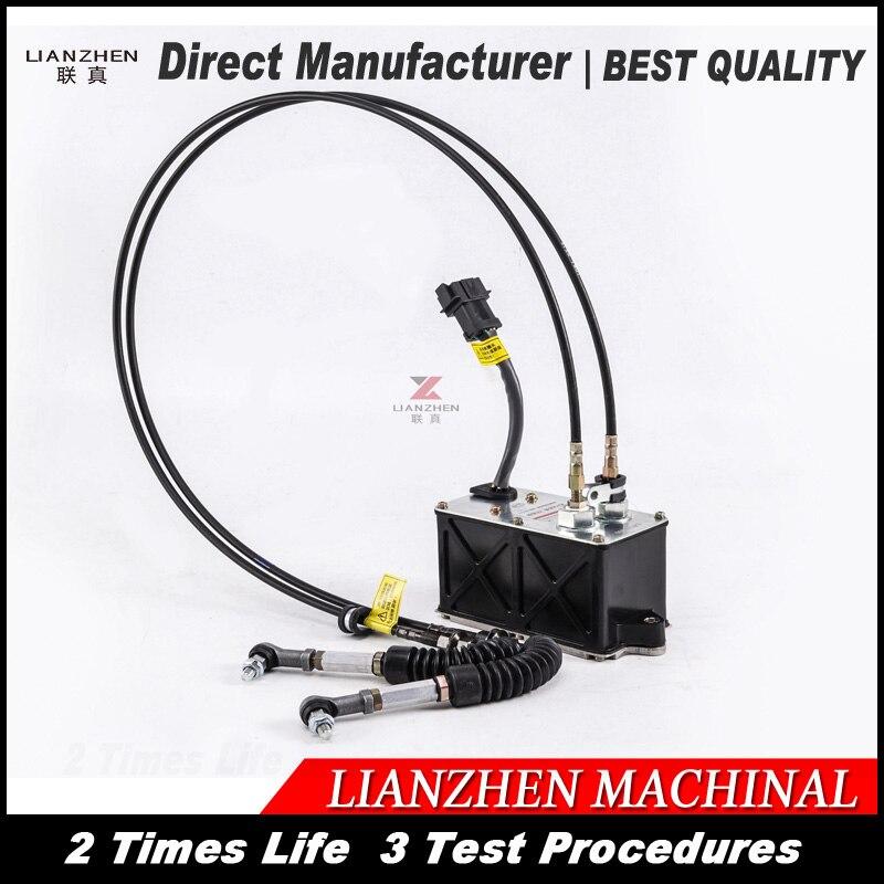 LIANZHEN 2475227 318C pour cat320CL Pelle gaz moteur pour chat gouverneur moteur E312C 247-5227 Pièce de rechange