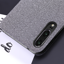 MOFi Fabric Flip Case for Huawei P20 P20Pro P20Lite