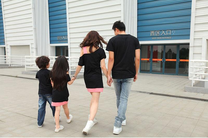 HTB1WFrpJFXXXXaEXpXXq6xXFXXXp - Entire Family Fashion - Matching Family Outfits, Smart Casual Styling, 3 Color Options