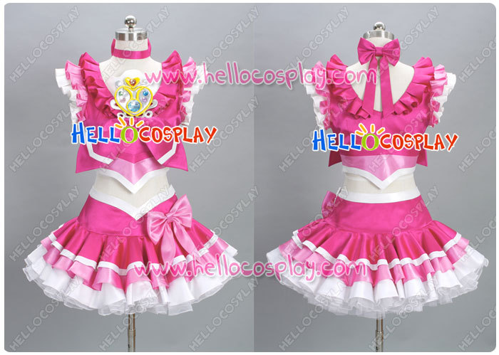 Suite PreCure Cospay Cure Melody Costume H008