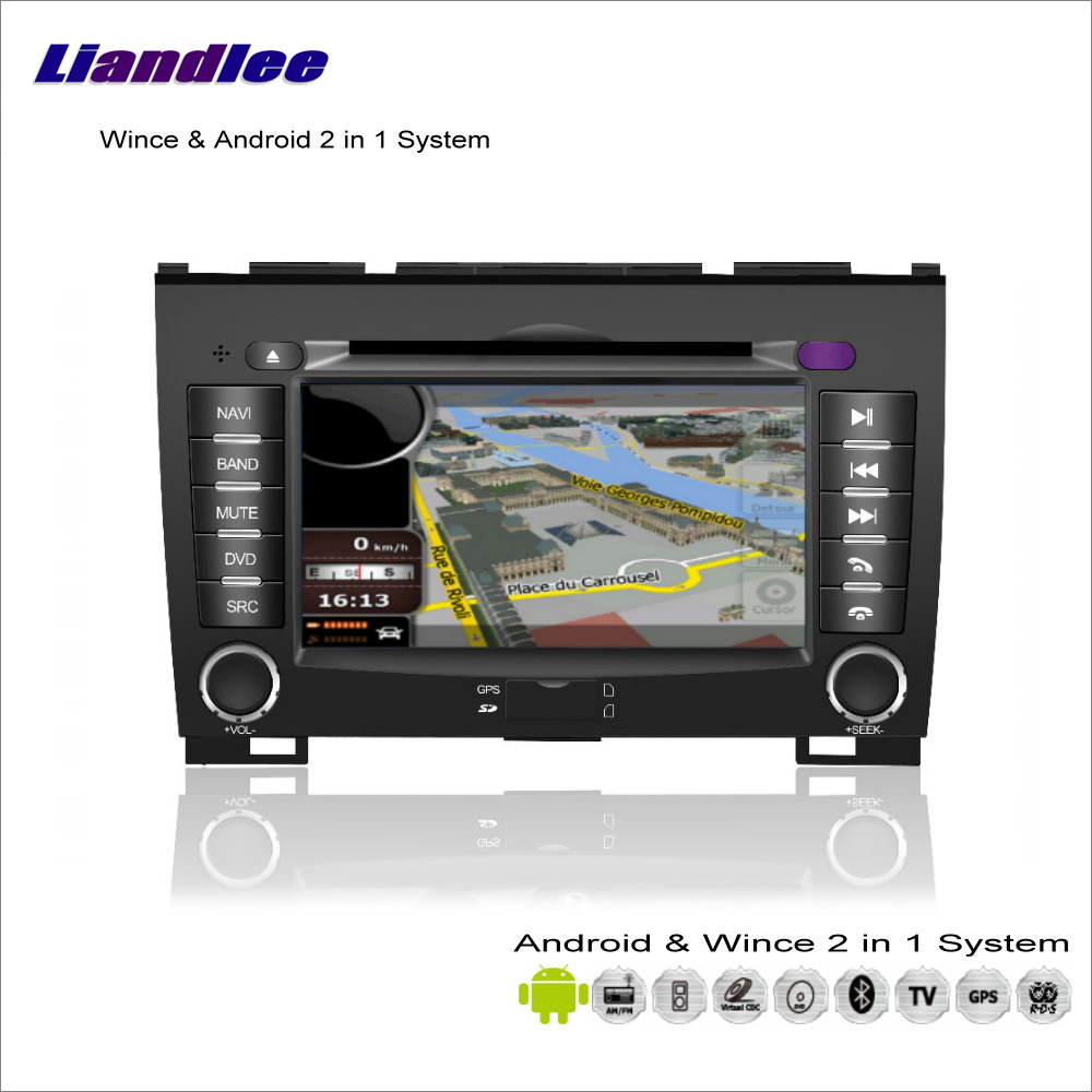 Liandlee For GreatWall H3 / H5 Car Radio CD DVD Player GPS Nav Navi Map Navigation Advanced Wince & Android 2 in 1 S160 System