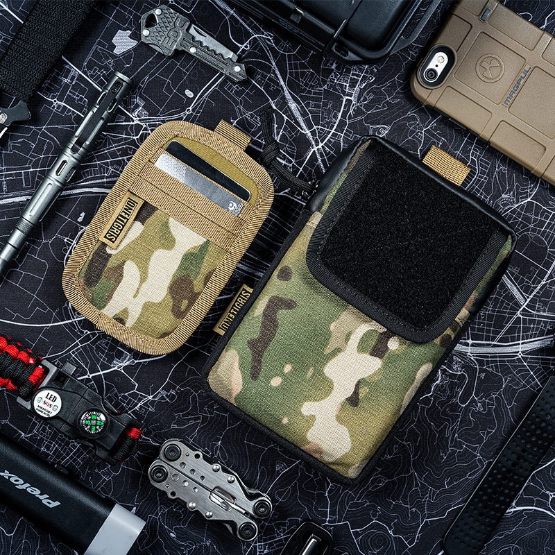 все цены на OneTigris Utility Phone Pouch Molle 500D Cordura Nylon for iPhone 6/6 plus/7/7 plus/8/8 plus iPhone X