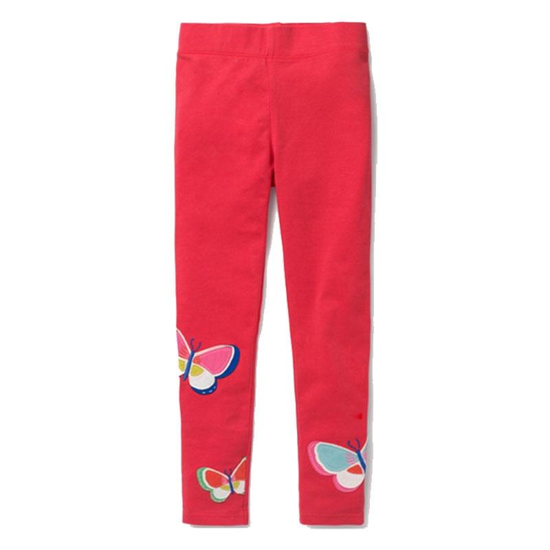 Jumping Meters Toddler Girls Leggings Kids 100% Cotton 2018 Brand Children Trousers Girls Pants Printed Baby Girls Clothes