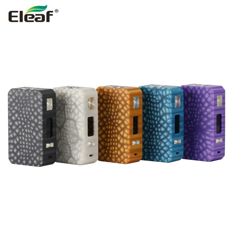 Original Eleaf Saurobox 220W TC Box MOD Distinctive Resin 0.96-inch Display Electronic Cigarette Vape Support ELLO Duro Tank цена