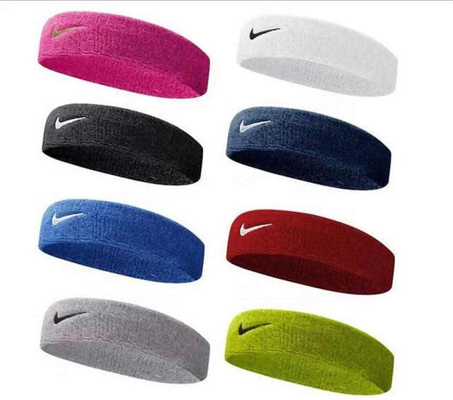 free shipping SWOOSH sport sweatband tennis basketball sweat bands elastic  head band 96506e7646b