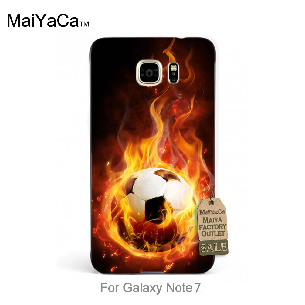 Top Detailed Popular phone case Hunger Games Quotes fire football For case note7