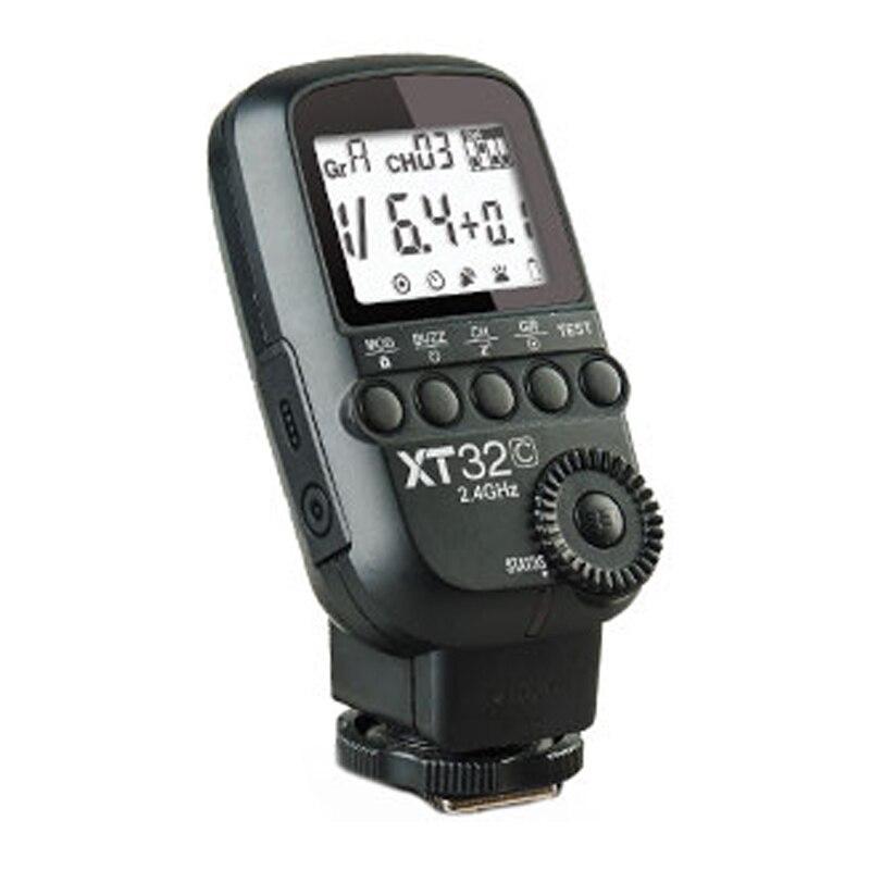 Godox XT32C 2.4G Wireless 1/8000s High-speed sync Flash Trigger Transmitter for Canon Nikon Sony Pentax Olympus  DSLR Cameras