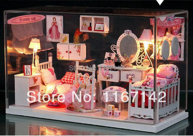 DIY 3D Puzzle Romantic Birthday Gifts With Electronic Light