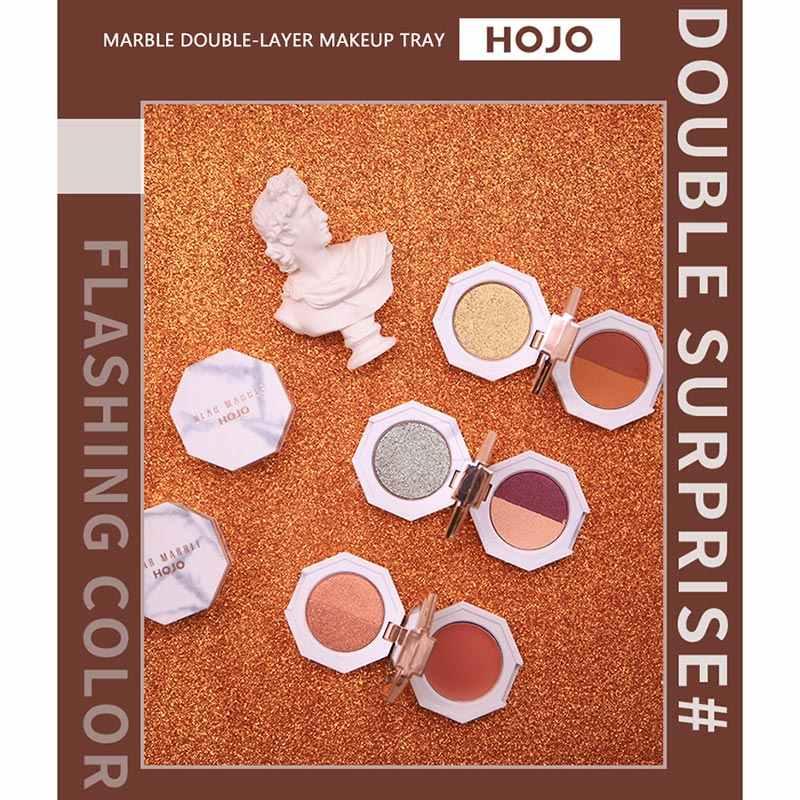 Beste Marmor Lidschatten Lang Anhaltende Wasserdicht Lidschatten Pulver für Frauen Make-Up QQ99