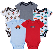 Mother Nest 5 Pieces/lot Newborn Baby Body Boys Girls Infantil Menino Infant Clothing  0-12 Months Baby Romper