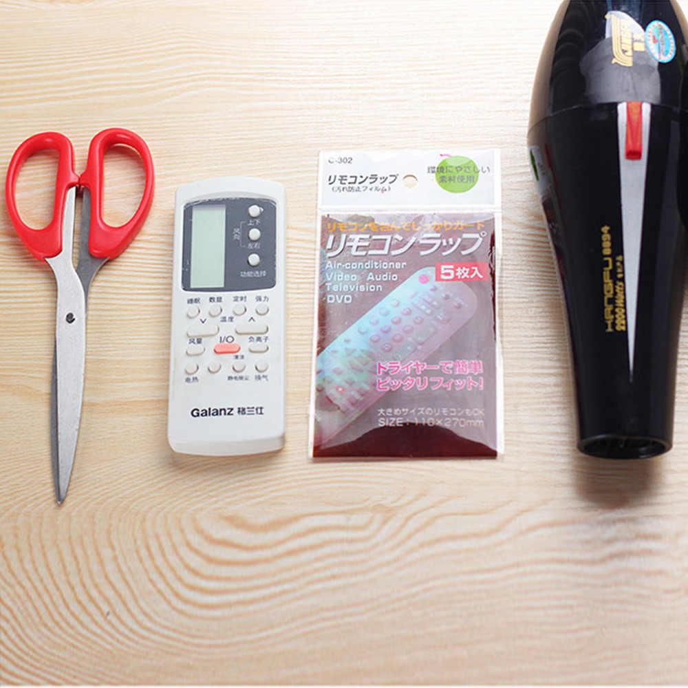 5 sztuk folia termokurczliwa TV klimatyzator zdalnego sterowania Protector pokrywa gorąca sprzedaży