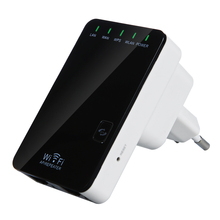 EU Plug Wireless-N Network Router AP WIFI Repeater Amplifier LAN Client Bridge IEEE 802.11b/g/n 300Mbps Singnal Booster