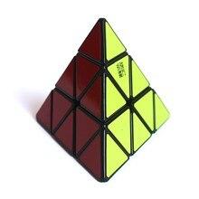 Newest Hot YJ Yongjun Yulong Pyraminx 3x3 Speed Cube Professional Magic Cube Puzzle Twisty Puzzle Educational