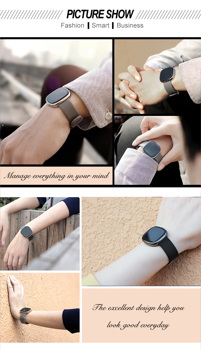 Heart Rate Pulse Monitor Smart Band Sleep Fitness Tracker Blood Pressure Bracelet Pedometer for Andriod IOS iPhone 7 Meizu Watch 4
