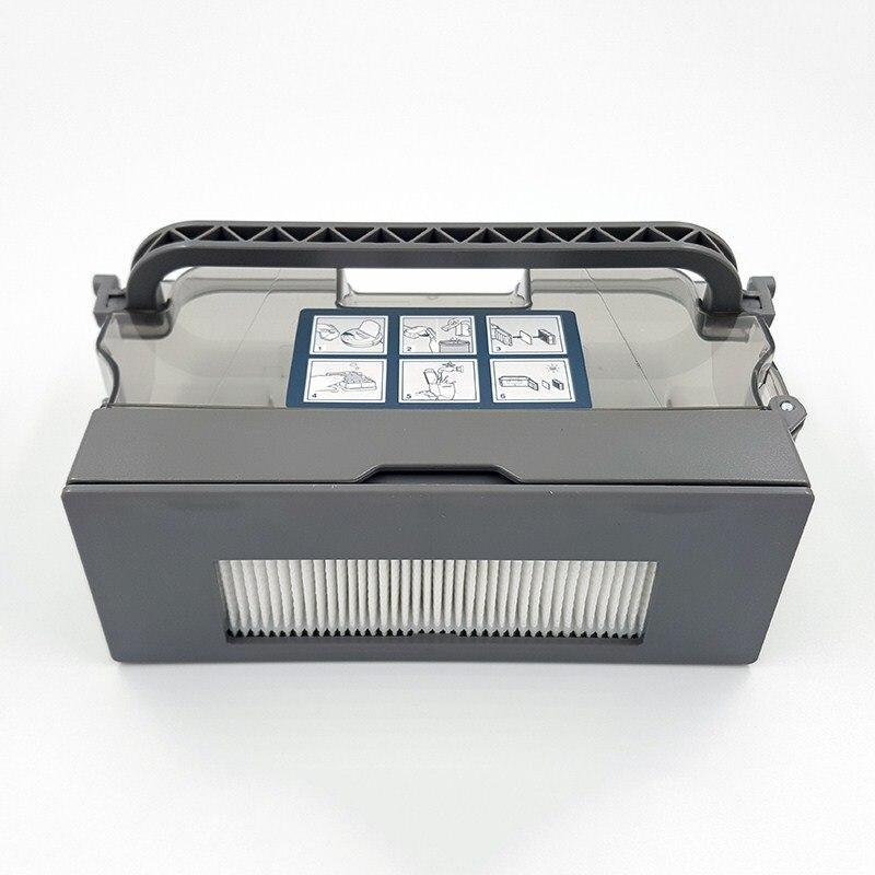 Dust Box Filter for Ecovacs Deebot DE35/DE33/DG711/DG710/DG716/DE55/DE53 Vacuum Cleaner Parts Dust Bin Filters Accessories
